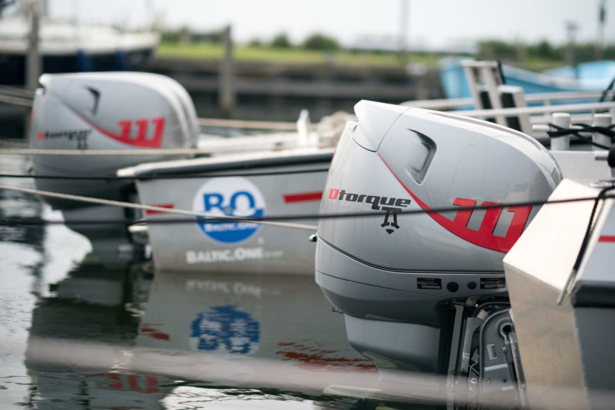 Dtorque diesel outboard engines