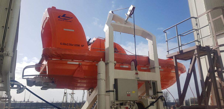 Wolong rescue boat JY65KR